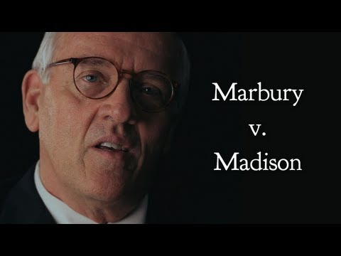 Supreme Court Stories: Marbury v. Madison