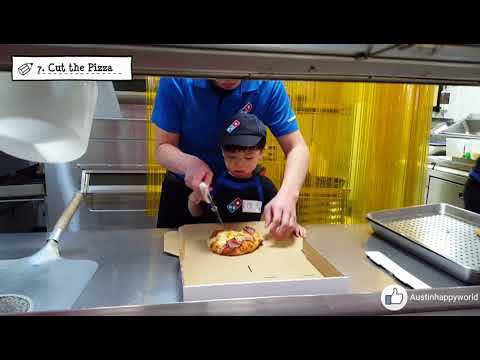Pizza staff experience @ Domino's of Taiwan