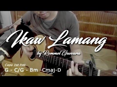 Ikaw Lamang - cover (with lyrics/chords)