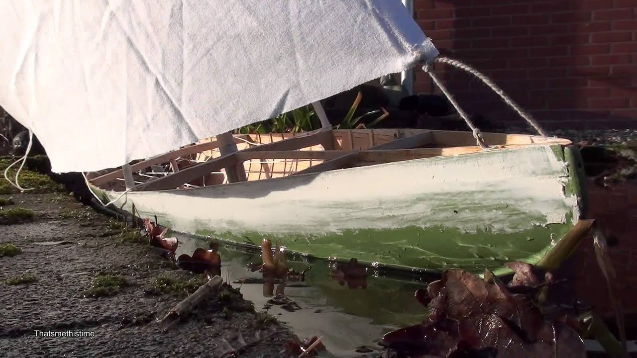12 Metre Sailboat - From Static to RC Model - part 4 - YouTube