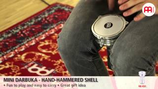 Mini Darbuka - Hand-Hammered Shell - HE-051