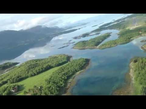 Widerøe Norge minutt for minutt. Flyvning Sandnessjøen Brønnøysund