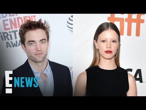 Robert Pattinson Poses With Mia Goth  E!