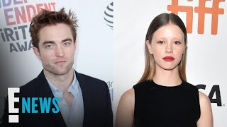 Robert Pattinson Poses With Mia Goth | E! News