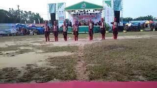 Juara 1 Tari Kreasi Daerah Nusantara di Asahan Expo PSBD Tahun 2018