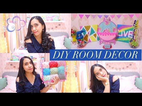DIY ROOM DECOR INDONESIA #3  - 9 DIY Room Decorating ideas