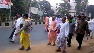 ইস্কন মন্দির এর জ্ন্য মানব বন্ধন ঢাকা ! Human Ties For Iskcon temple
