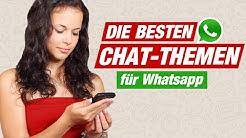 ÜBER WAS SCHREIBEN MIT MÄDCHEN? 🙄 Die besten Chat Themen für Whatsapp!