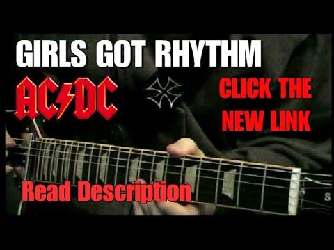 Girls got Rhythm (AC/DC) Lesson music