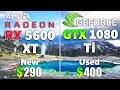 GTX 1080 Ti vs RX 5600 XT Test in 8 Games