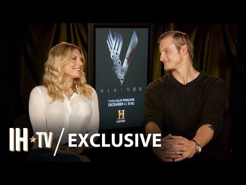 Vikings Season 6: Alexander Ludwig & Katheryn Winnick Exclusive