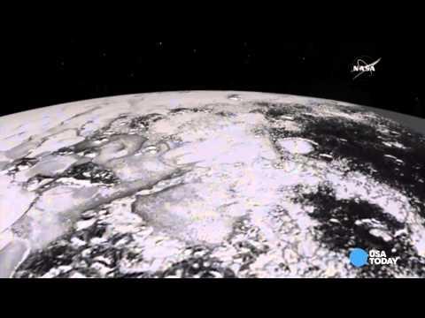 Take a tour of Pluto's mountain ranges
