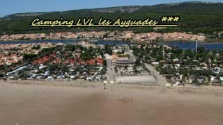 Camping LVL les Ayguades*** de Gruissan (LVL les Ayguades en bord de mer)