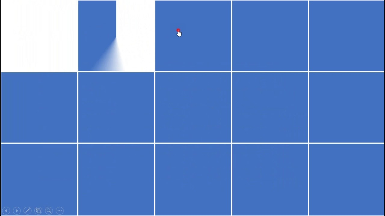 Cara Membuat Puzzle Tebak Gambar Sebagai Media Pembelajaran Dengan Menggunakan Power Point Youtube