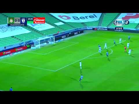 Santos Laguna 0 - [1] Pachuca - Luis Chavez 45+3'   Long Range Goal