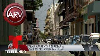 Las calles de Puerto Rico buscan la calma luego de históricas protestas | Al Rojo Vivo | Telemundo