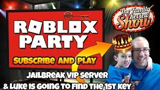 Tuesday Night Roblox Party | Jailbreak VIP Server & Ready Player One Key Search