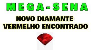 Mega-Sena: Novo Diamante Vermelho Encontrado!