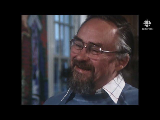 En 1983, entrevue avec Pierre Gauvreau, auteur du téléroman «Le temps d'une paix»