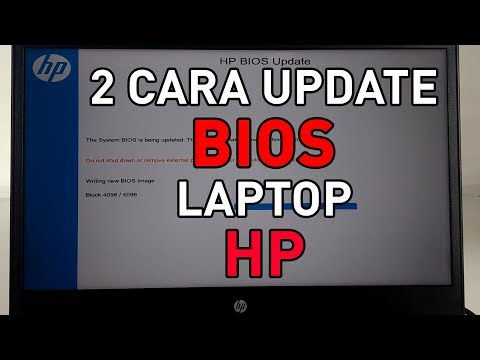 2 Cara Update Bios Laptop Hp Youtube
