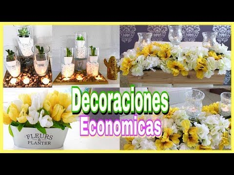 Decoraciones para tu mesa economicas diys faciles y for Decoraciones faciles y economicas