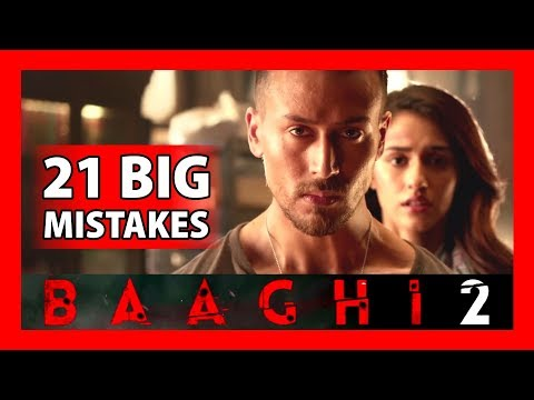21 BIG MISTAKES | BAAGHI 2 FULL MOVIE 2018...