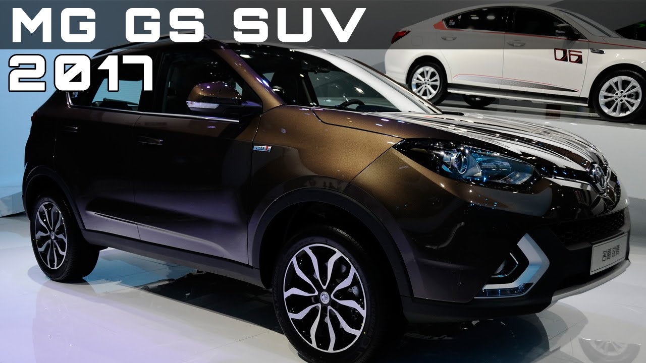 Mg Gs Suv Review Rendered Price Specs Release Date Youtube