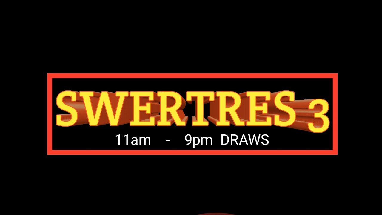 SWERTRES HEARING | AUGUST 3,2019 ALL DRAWS