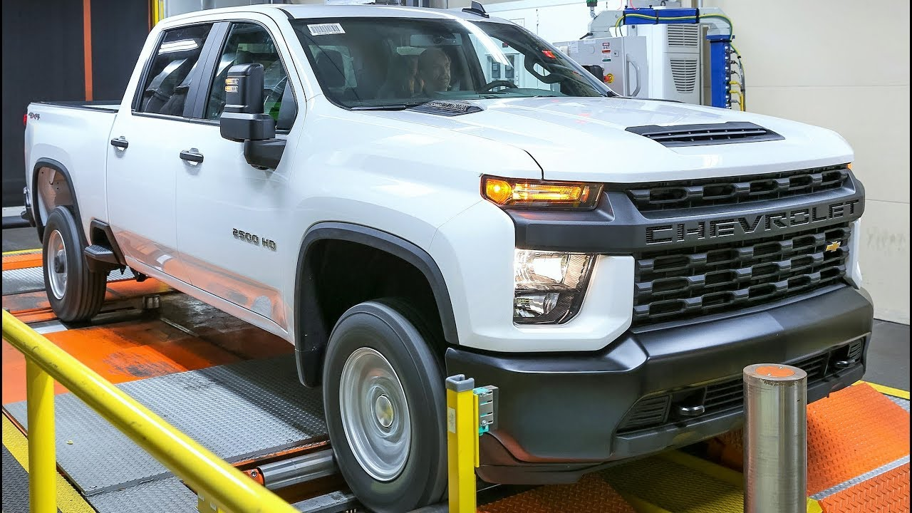 2020 Chevrolet Silverado HD Production - YouTube