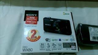 Sony CyberShot DSC WX80 Unboxing amp Full Hands On