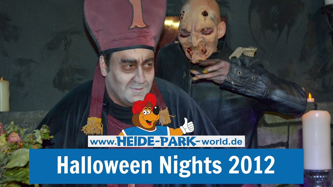heide park resort halloween nights 2012 youtube. Black Bedroom Furniture Sets. Home Design Ideas