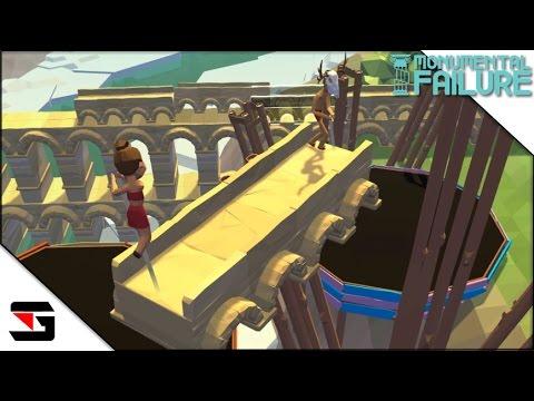 Monumental Failure #2 Roman Aqueduct 巨大な文化遺産を創れ!