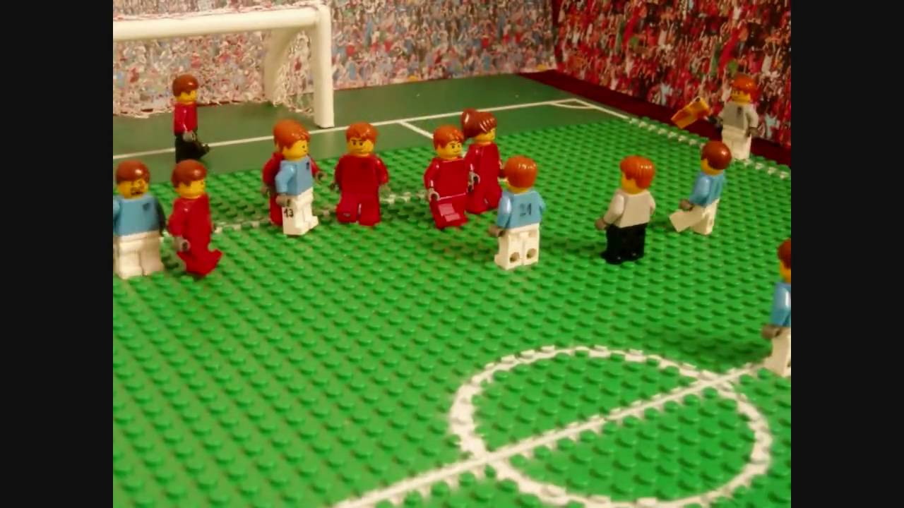 Fußball Lego