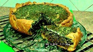Пирог с  куриной печёнкой, пальчики оближешь, легко  и просто