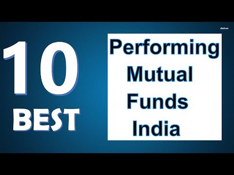 Top 10 Best Performing Mutual Funds of India.