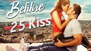 25 Kiss in Befikre Movie Song | Labon Ka Karobaar Song | Befikre Trailer | Ranveer Singh