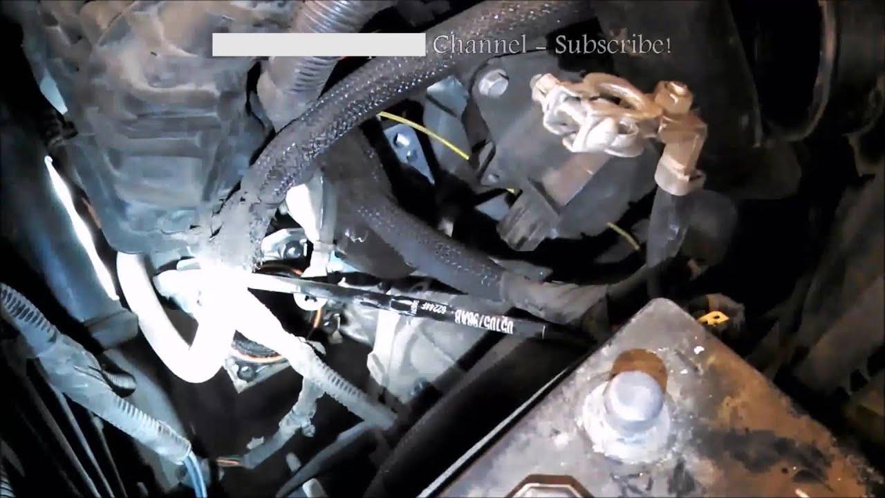 Starter replacement Dodge Caliber 20072012 18L 20L 24L