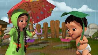 Paani Barsa Cham Cham - Rain Song | Hindi Rhymes for Children | Infobells