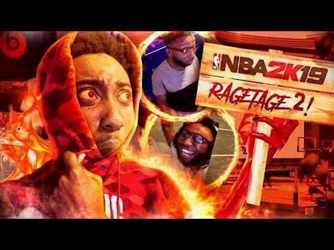 I ALMOST UNINSTALLED NBA 2K19 BECAUSE OF THIS. NBA 2K19 RAGETAGE / STREAMTAGE #2