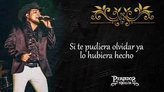 Se Supone - Perdidos de Sinaloa  Lyric (Disco 2020)