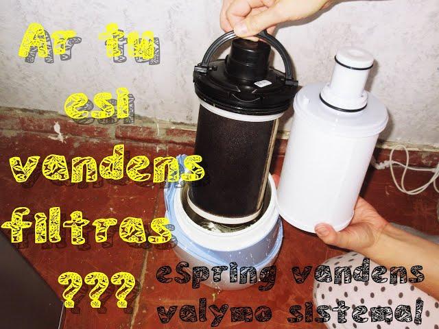 #eSpring vandens valymo sistema / kasetės keitimas / Vegan Pipiras