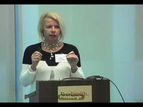 Carrie Holstead Speaking at Reed Smith Law Firm