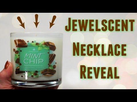 JewelScent Necklace Reveal - Mint Chip Candle!