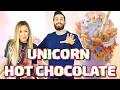 UNICORN HOT CHOCOLATE!!! w/ LaurDIY