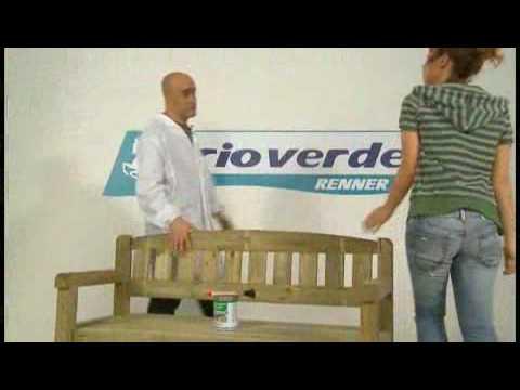 Verniciare legno. Come prendersi cura dei mobili da giardino - YouTube