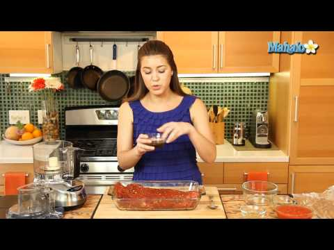 How to Make Oven Barbecued Brisket