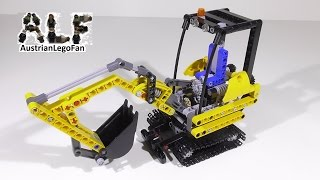 Lego Technic 8047 Compact Excavator / Kompaktbagger - Lego Speed Build Review