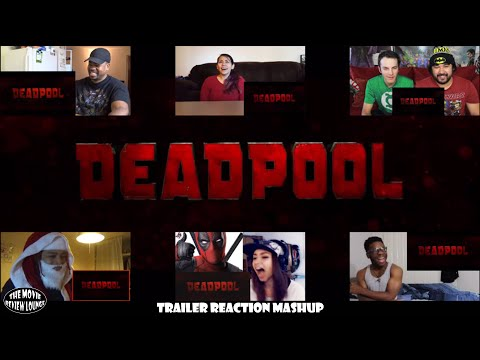 Deadpool Red Band Trailer #2 (Reaction Mashup)