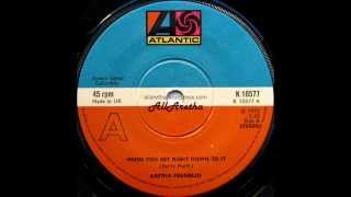 Aretha Franklin - When You Get Right Down To It / Sing It Again, Say It Again - 7″ UK - 1975
