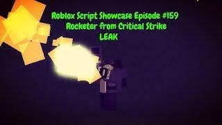 Roblox Script Showcase Episode #159 Rocketer from Critical Strike [LEAK]
